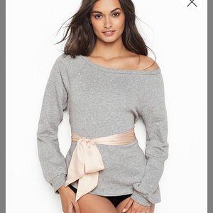 Victoria's Secret Sweaters - NIB LARGE TIE WAIST TOP VICTORIAS SECRET